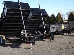 3.5 Ton Miska Dump Trailers ? Proudly Canadian Mad
