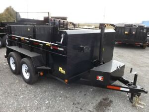 3.5 Ton Miska Dump Trailers – Made in Canada