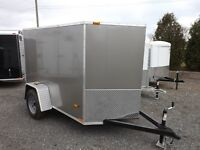 5' Wide Enclosed Cargo Trailers - MADE IN CANADA