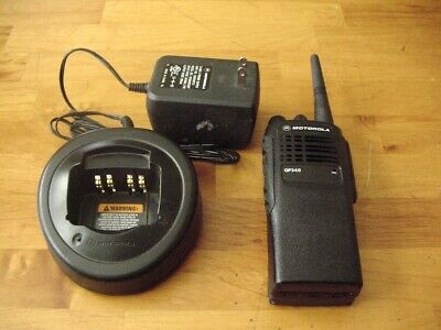 Motorola GP340 Two-Way Radio 16 Channels With Accessories. Buy it now for 85.0