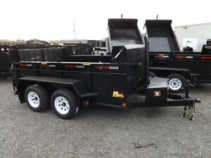 3.5 Ton Miska Dump Trailer - Made in Canada