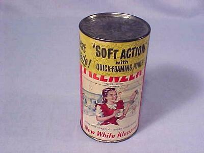 Antique Original KITCHEN KLENZER SOAP CLEANER FACTORY SEALED NEW OLD STOCK 1940s