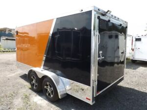Miska Enclosed Motorcycle Haulers - Loaded!
