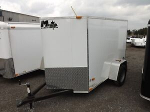 Miska Titan STET Enclosed Cargo Trailers