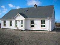 5 bed house, Annagry, Rannafast Gaeltacht, Dungloe, Donegal near Carrickfinn beach & Donegal Airport