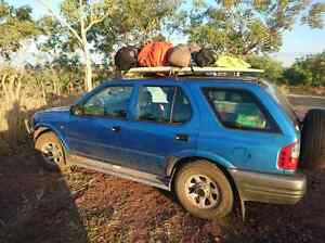 2001 Holden Frontera Wagon with Camping gear Fremantle Fremantle Area Preview
