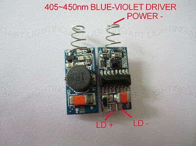 Driver Constant Current Protection For405-450nm 300mw-1w Blue-violet Laser Diode