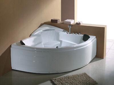 Corner JETTED BATHTUB ,Whirlpool, Air Bubble , Massage,Heater.US Warranty.Sale for sale  Binghamton
