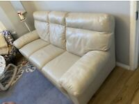 Harvey's 3 Seater Leather sofa.
