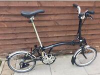 Brompton M3L bike