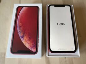 Apple iPhone XR Red 64GB UNLOCKED, Mint Condition