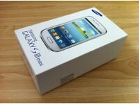 CHRISTMAS BEST OFFER WITH FREE GIFT 🎁 SAMSUNG GALAXY S3 MINI BRAND NEW BOX