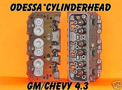 2 GM CHEVY S10 ASTRO VAN 4.3 CYLINDER HEADS VORTEC CAST # 113 & 114 ONLY REBUILT