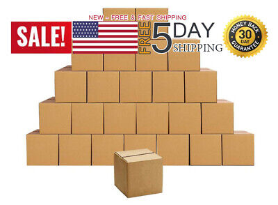 Shipping Boxes Small 4 X 4 X 4 Inches Cardboard Boxes 25 Pack