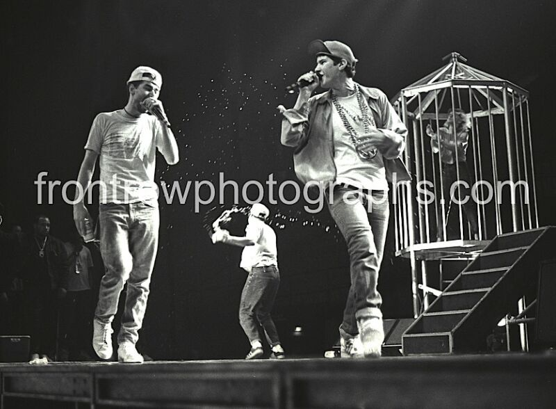 Beastie Boys Black & White Photo