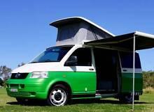 VW T5 Kombi Campervan Solar Charging Rear Shower 5 Seatbelts Albion Park Rail Shellharbour Area Preview