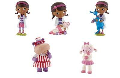 Bullyland Doc McStuffins Hallie, Lammie, Stuffy, Disney`s verschiedene Figuren