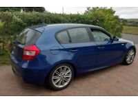 BMW 118D M SPORT LONG MOT HALF LEATHER PARK SENSORS DRIVES FANTASTIC BARGAIN