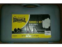Lonsdale Dumbells 15kg