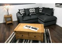 **NEW** Dark grey corner sofa (quality suites and sofas)