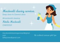 macdonald cleaning services