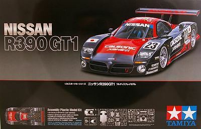 Tamiya 24192 1/24 Scale Model Car Kit TWR Nissan R390 GT1 1997 24 Hours Le Mans