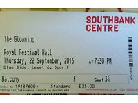 2 x Tickets for The Gloaming, Royal Festival Hall, 22nd Sept 2016