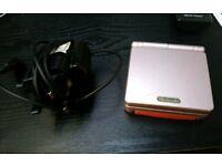 Gameboy advance sp console