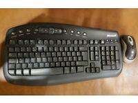 **£20** Microsoft Wireless Keyboard and Mouse