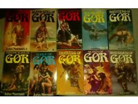 Ten John Norman Gor Novels