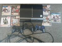 Playstation 3 and 7 games