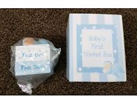 Baby's First Trinket Box - Brand New in Box