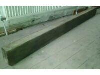 Solid Wooden Beam/Lintel/Fireplace/ Mantel/Shelf