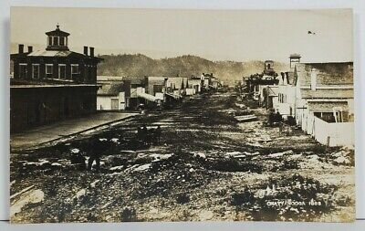 Tennessee Rppc Chattanooga Early View c1913 M.W. Cline Real Photo Postcard O3