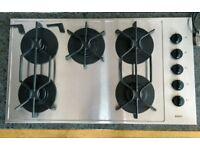 Bosch Gas Hob. 5 Burners. Good condition