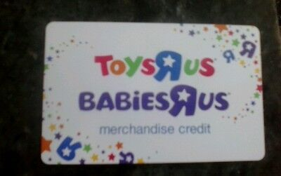 142.34 Babies r us /Toys r us store merchandise credit/Gift Card! on Rummage
