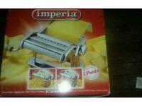 New boxed imperia pasta machine