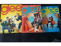Glee season 1,2,3 DVD box sets