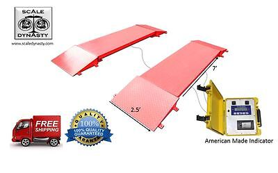 Portable Truck Axle Scale - Truck Axle Scales - Axle Weight Scale - Usa Made