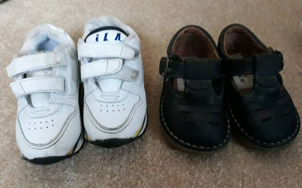 4475c4776a28 Toddler Hush Puppies shoes and ILA trainers. UK 5