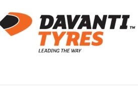 4 Brand New Davanti Tyres up to the value of £500