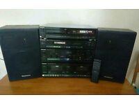 Technics SA-X800L stereo system