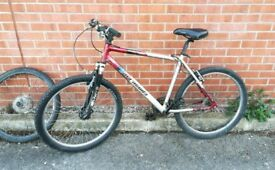 Barracuda mountain bike spares or repair