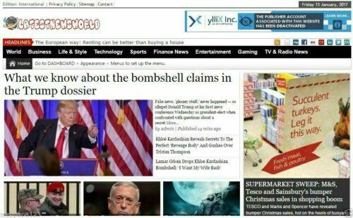 Fully Automated News/Magazine Website