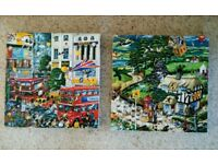Two Jigsaw Puzzles Mike Jupp 1000 Piece