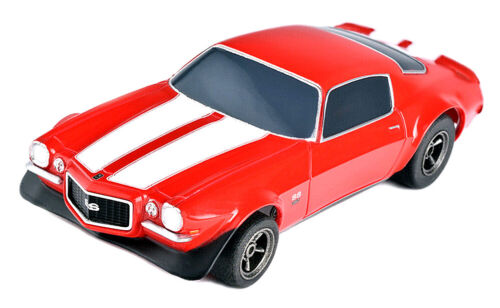 BACK IN STOCK! Tomy AFX Mega G+ Red Chevy Camaro SS 350 HO Slot Car #22002 NIB