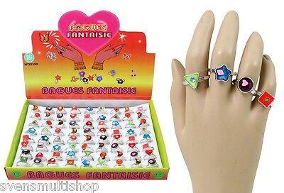 15 Stück Kinderringe Ringe für Mädchen Geburtstag Mitgebsel Mitbringsel Kinder
