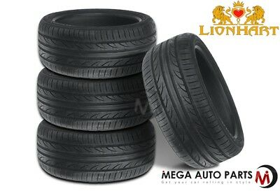 4 New Lionhart LH 501 18555R15 82V All Season Performance Tires