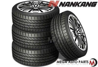 4 Nankang NS-25 NS25 All-Season UHP Ultra High Performance 205/35R18 81H Tires