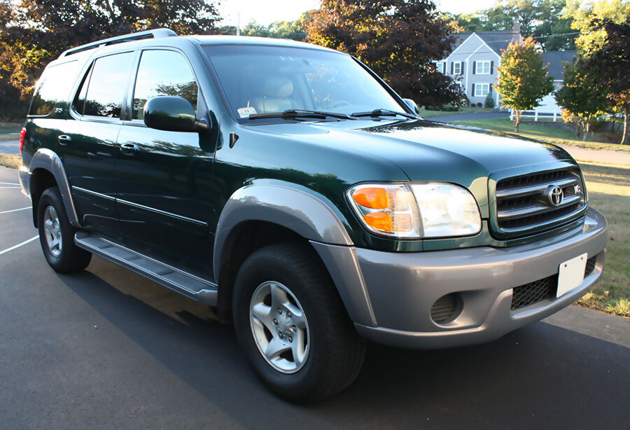 2002 Toyota Sequoia Reviews And Rating Motor Trend